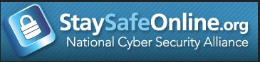 Visit StaySafeOnline.org for great resources and tips!