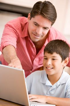 Laptops are a great tool for home schooled kids.