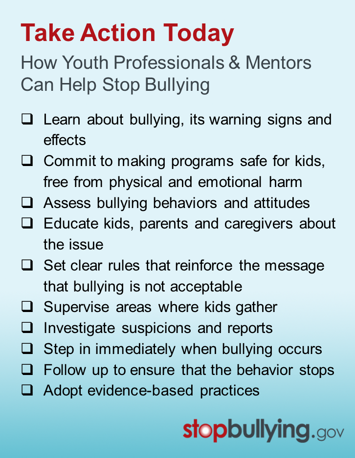 How to prevent bullying in schools