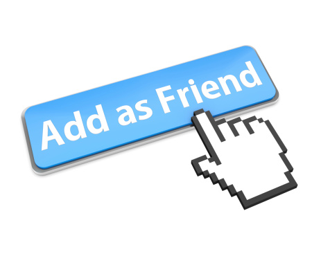 Facebook Add Friend Logo