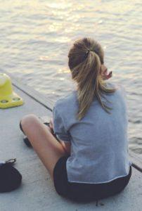 Help Your Teens PexelGirlonDock-202x300 5 Ways to Combat Cyberbullying for Teens